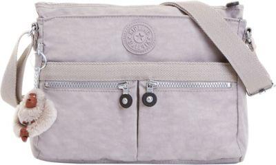 Kipling Angie Crossbody Slate Grey - Kipling Leather Handbags