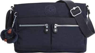 Kipling Angie Crossbody True Blue - Kipling Leather Handbags
