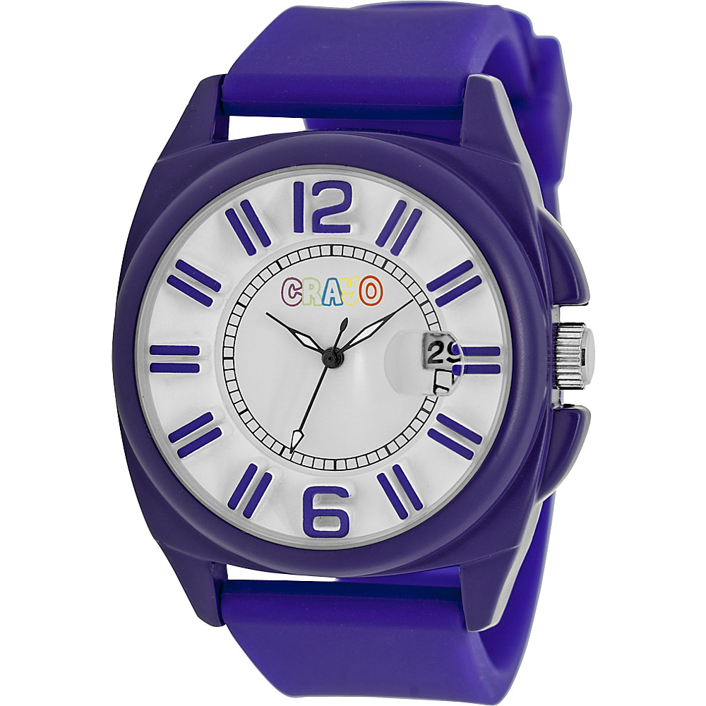 Crayo Sunset Unisex Watch Purple Crayo Watches