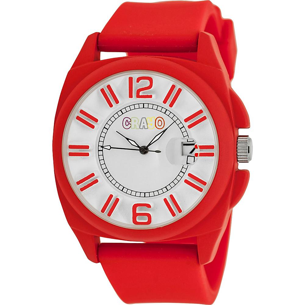 Crayo Sunset Unisex Watch Red Crayo Watches