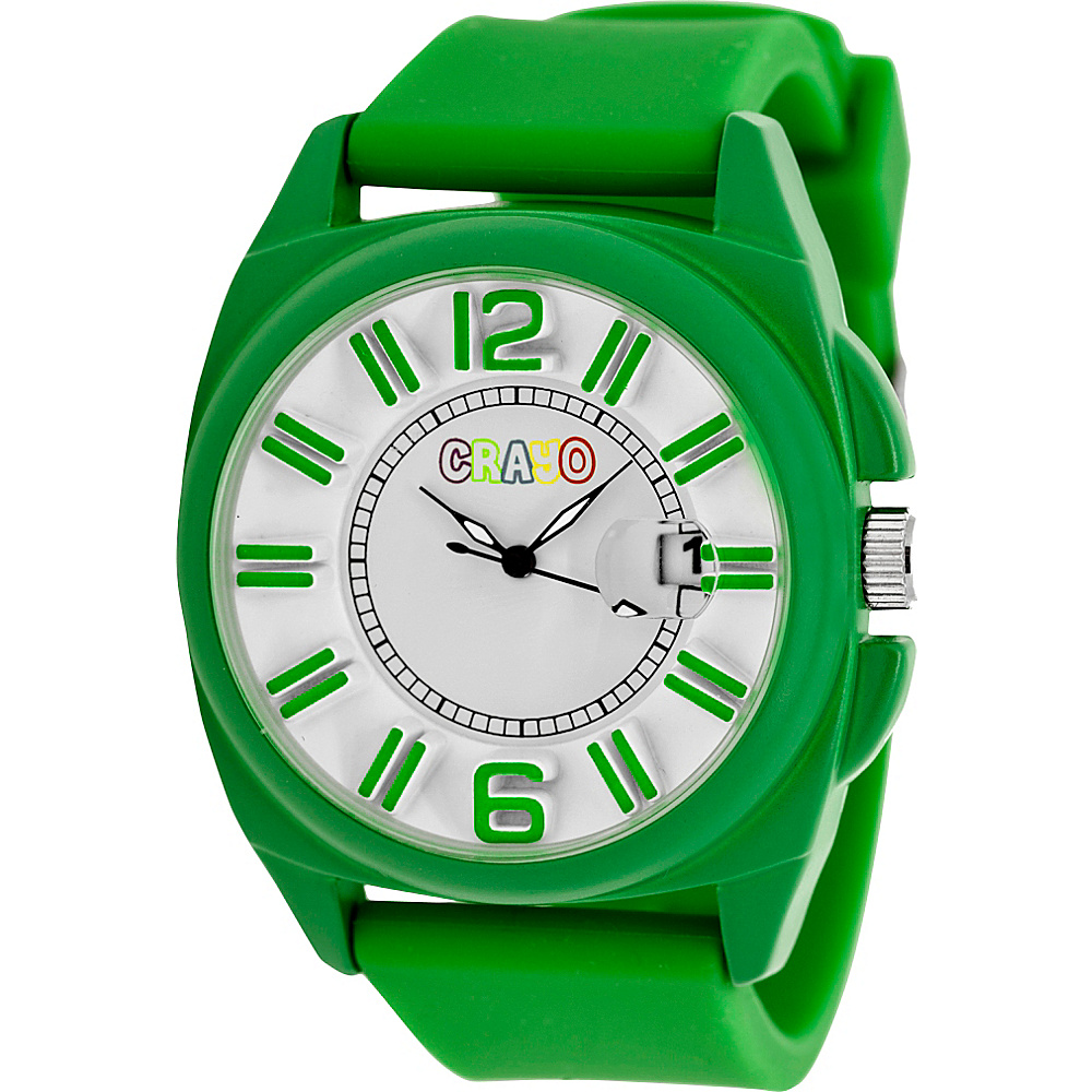 Crayo Sunset Unisex Watch Green Crayo Watches