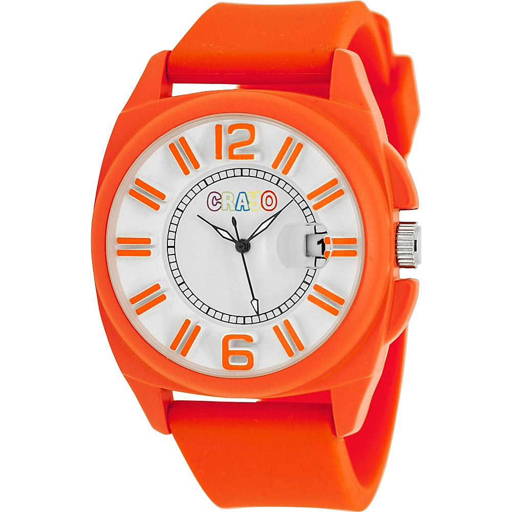 Crayo Sunset Unisex Watch Orange Crayo Watches
