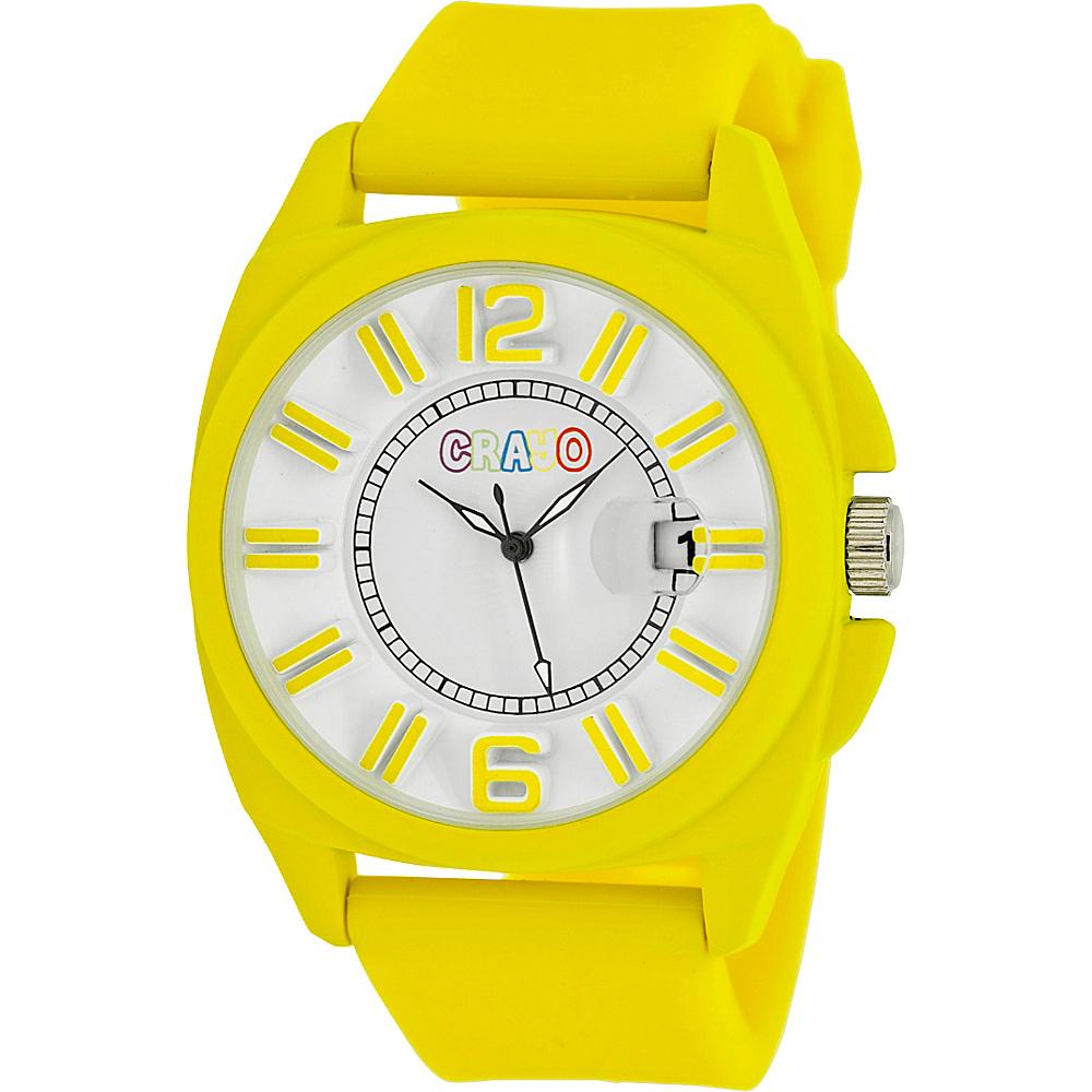 Crayo Sunset Unisex Watch Yellow Crayo Watches