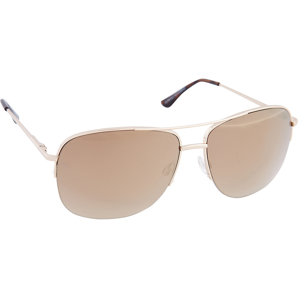 Vince Camuto Eyewear VC709 Sunglasses Gold Vince Camuto Eyewear Sunglasses