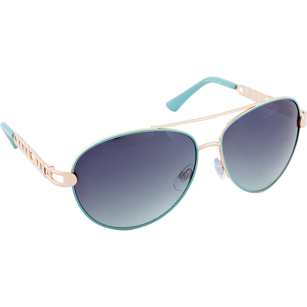 Rocawear Sunwear R566 Women s Sunglasses Gold Aqua Rocawear Sunwear Sunglasses