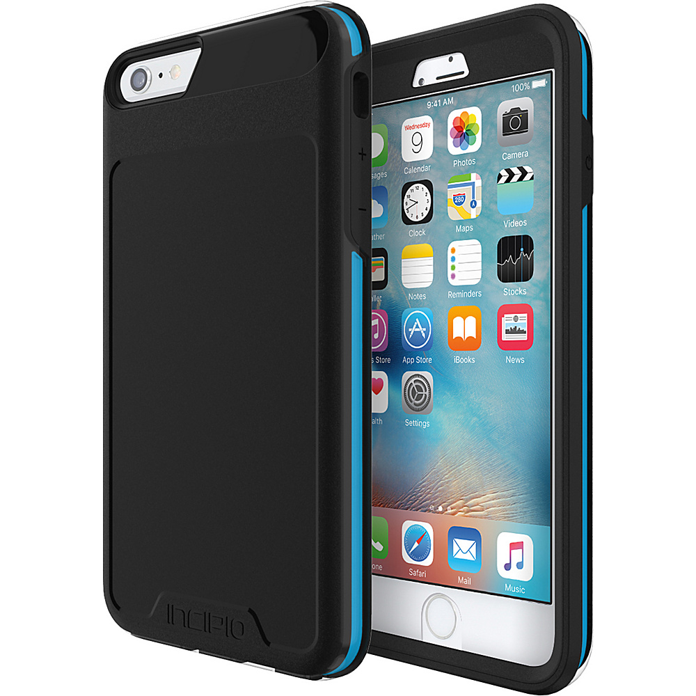 Incipio Performance Series Level 5 for iPhone 6 Plus / 6s Plus Black/Cyan - Incipio Electronic Cases - Technology, Electronic Cases