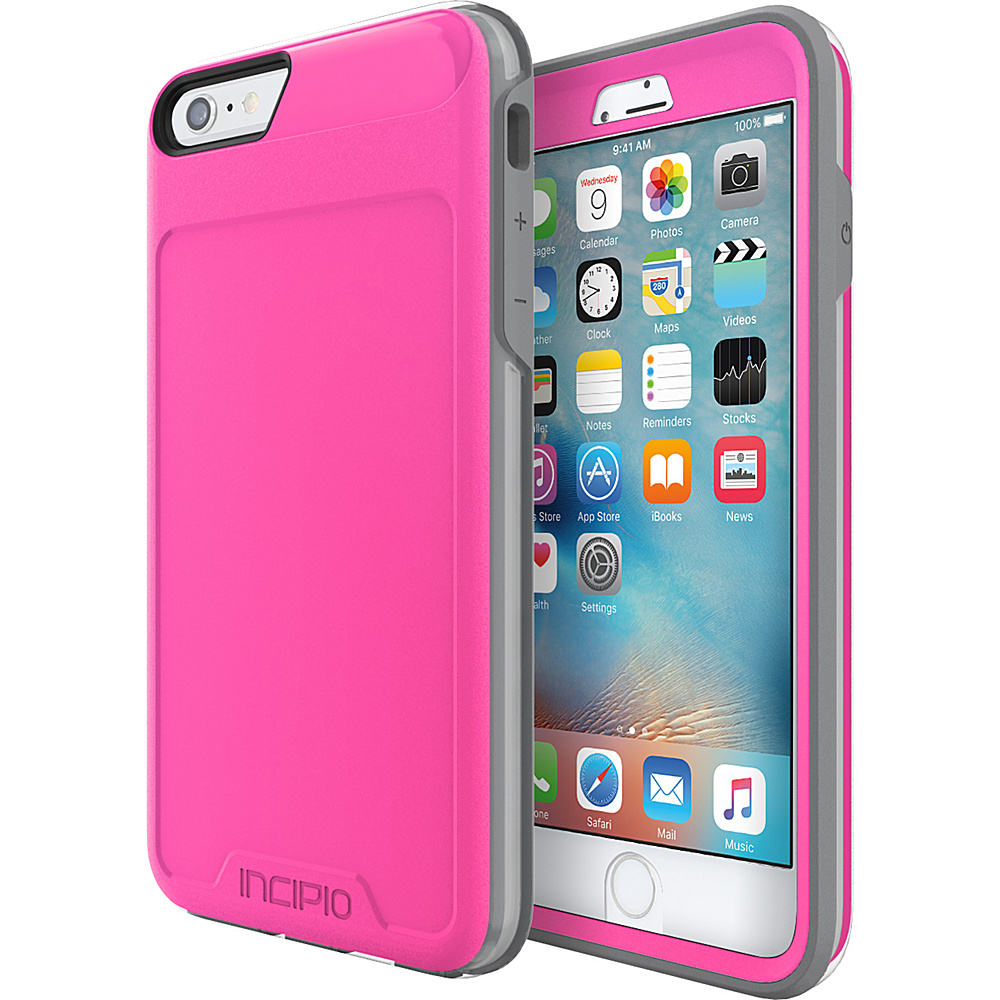 Incipio Performance Series Level 5 for iPhone 6 Plus / 6s Plus Pink/Gray - Incipio Electronic Cases - Technology, Electronic Cases