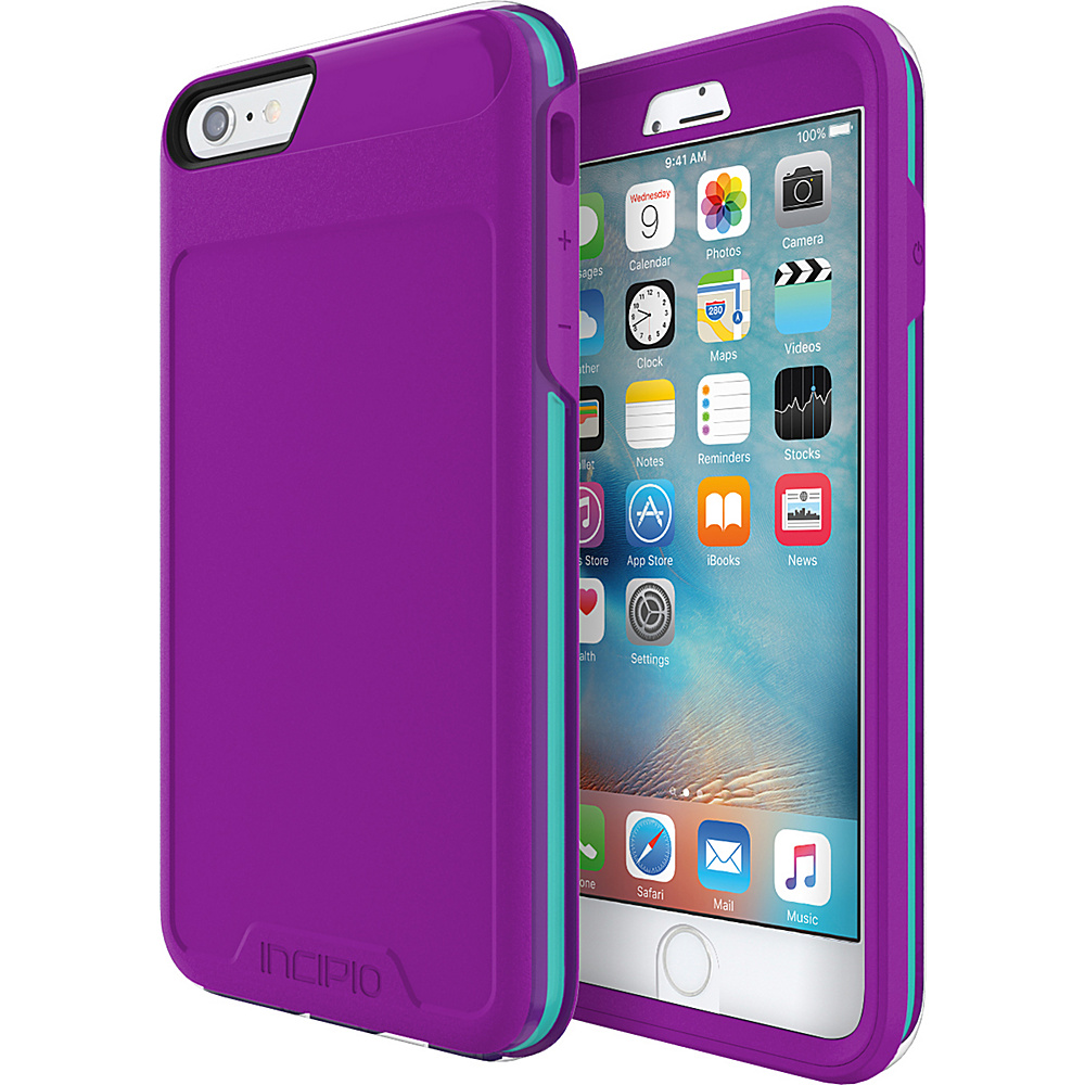 Incipio Performance Series Level 5 for iPhone 6 Plus / 6s Plus Purple/Teal - Incipio Electronic Cases - Technology, Electronic Cases