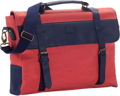 1Voice The Adare Messenger: 11,000mAh of Power Built-In Red - 1Voice Messenger Bags
