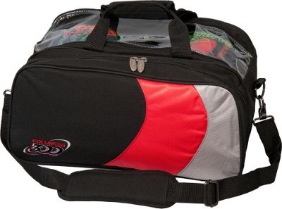 Columbia 300 Bags Columbia 300 Double Ball Tote Red/Silver/Black - Columbia 300 Bags Bowling Bags