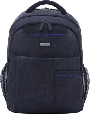 ECO STYLE Tech Lite Backpack Gray/Blue - ECO STYLE Business & Laptop Backpacks