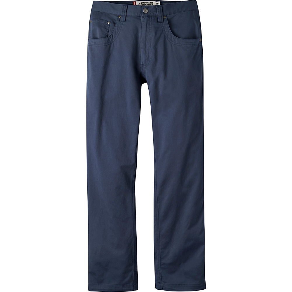 Mountain Khakis Camber Commuter Pants 40 - 32in - Navy - Mountain Khakis Mens Apparel - Apparel & Footwear, Men's Apparel