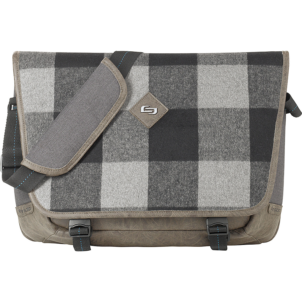 SOLO Nomad 15.6 Messenger Gray SOLO Messenger Bags
