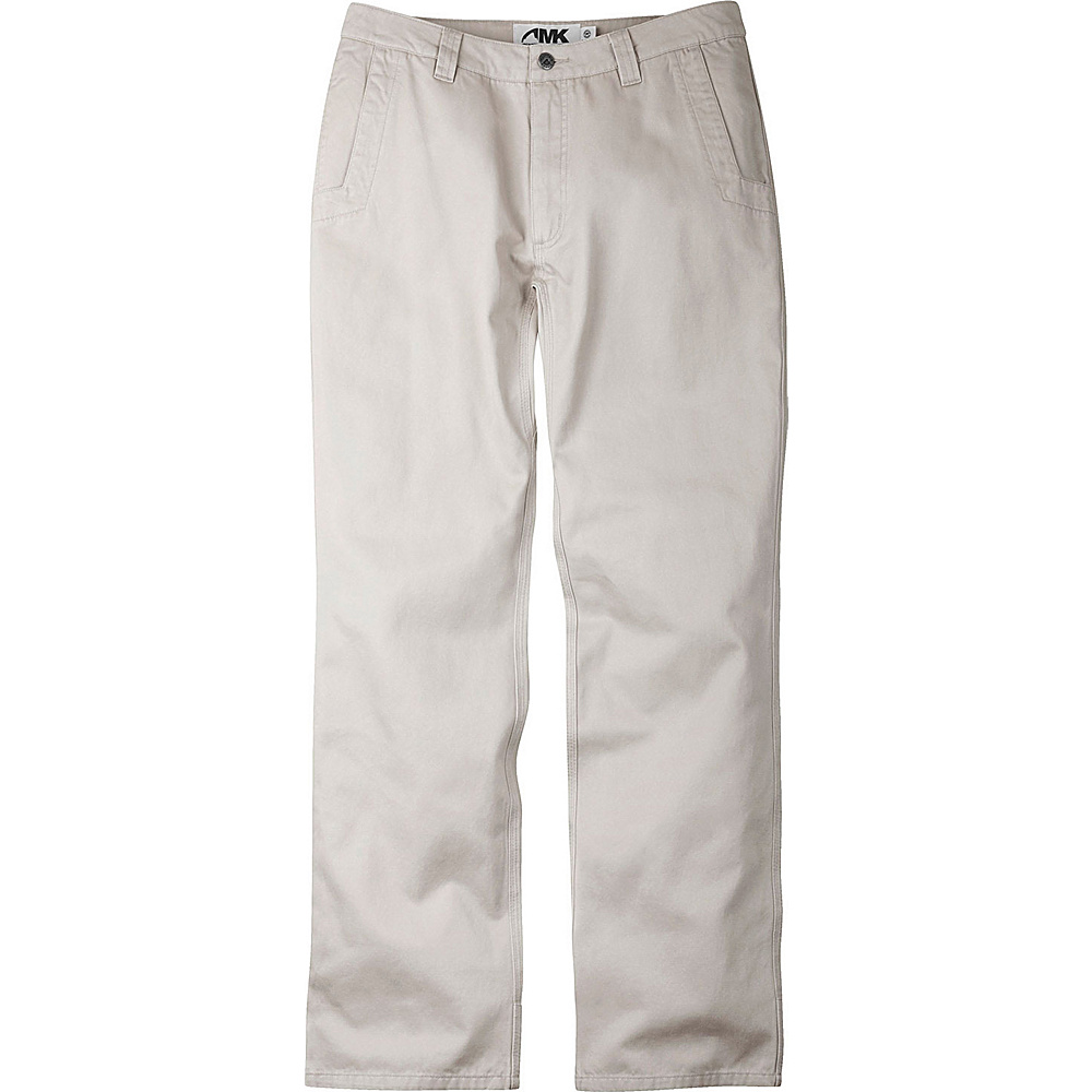 Mountain Khakis Broadway Fit Teton Twill Pants 38 - 32in - Stone - Mountain Khakis Mens Apparel - Apparel & Footwear, Men's Apparel