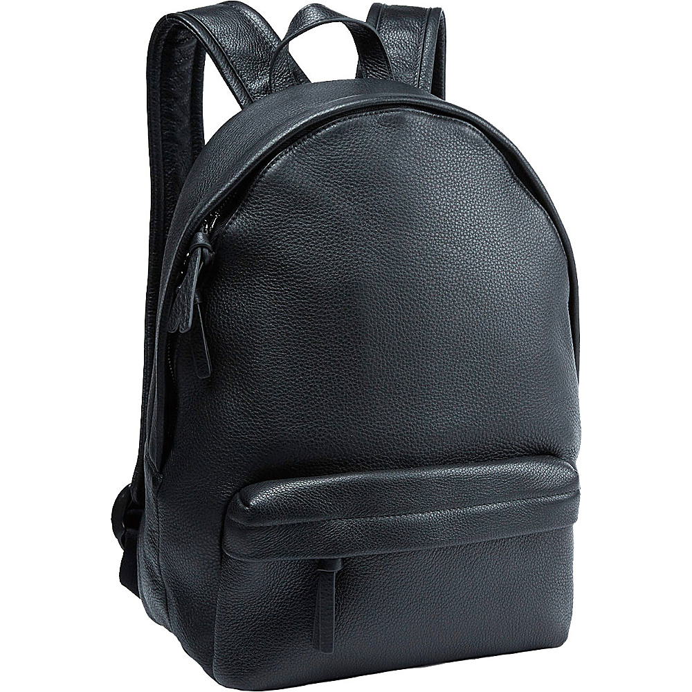 Tanners Avenue Leather Backpack Black Tanners Avenue Business Laptop Backpacks