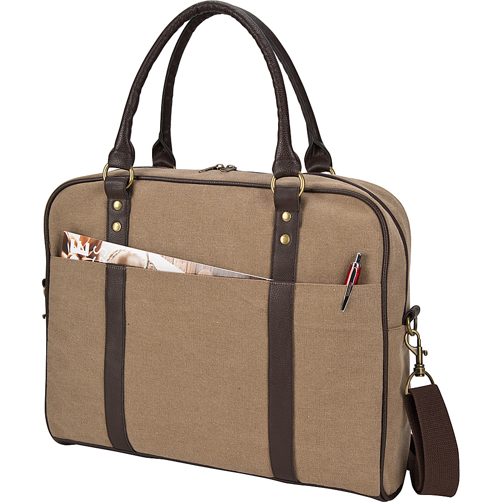 Goodhope Bags The Arlington Briefcase Brown Goodhope Bags Messenger Bags