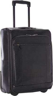 Goodhope Bags The Precision Leather 20 inch Computer/Tablet Carry-On Black - Goodhope Bags Softside Carry-On
