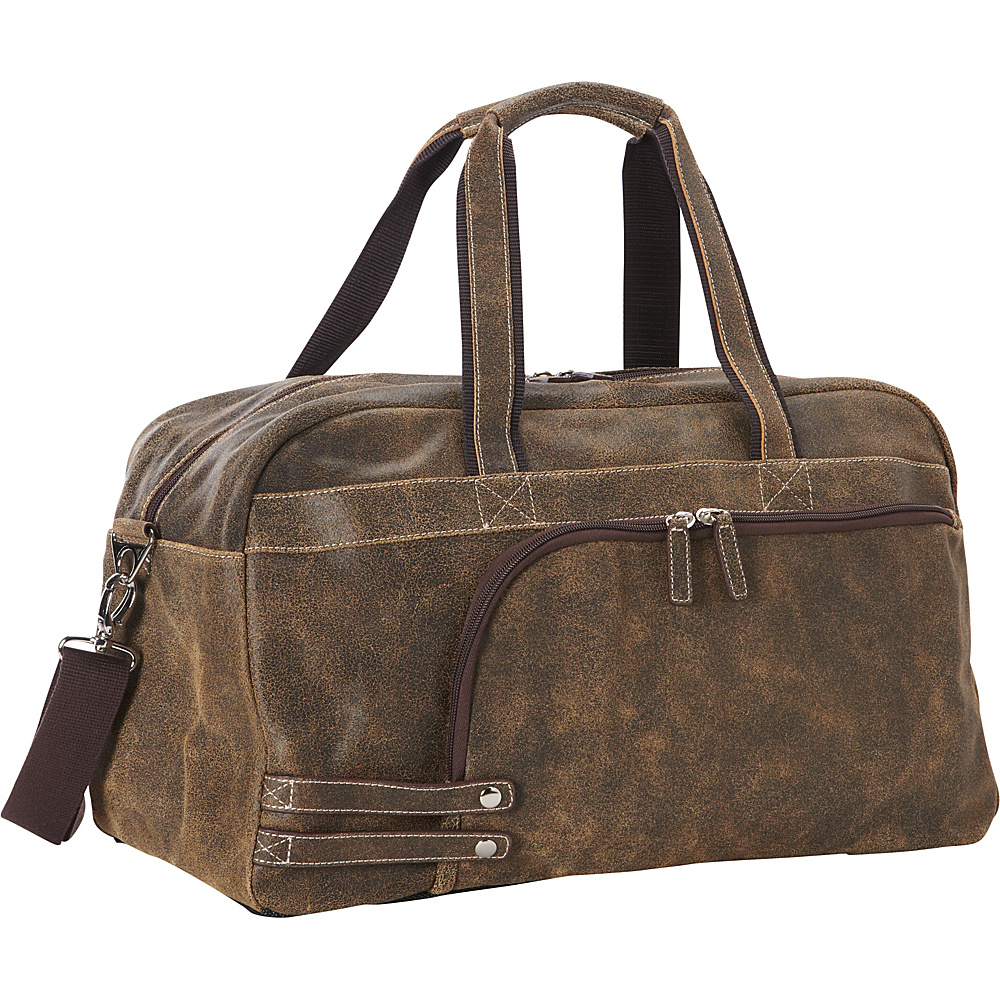 Goodhope Bags The Icon Leather Duffel Brown Goodhope Bags Rolling Duffels
