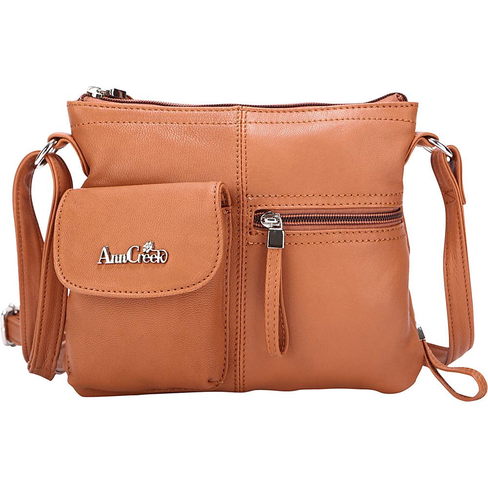 Ann Creek Women s Larchmont Leather Satchel Bag Tan Ann Creek Leather Handbags