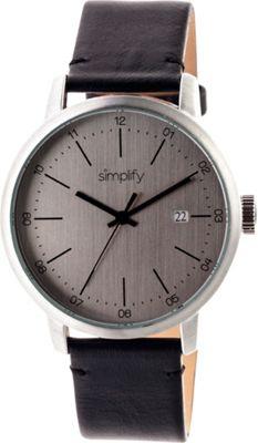 Simplify 2500 Unisex Watch Silver/Silver - Simplify Watches