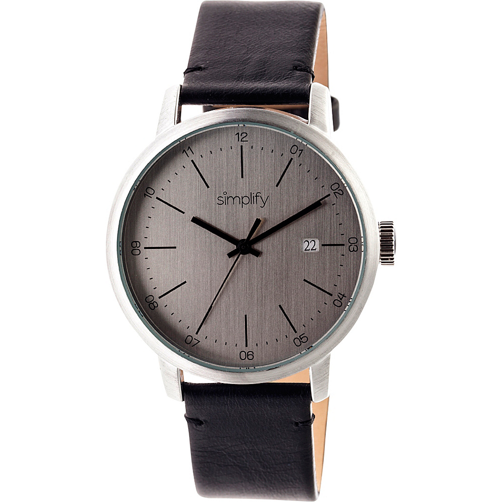 Simplify 2500 Unisex Watch Silver Silver Simplify Watches