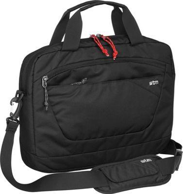 STM Goods Swift Medium Brief Black - STM Goods Messenger Bags