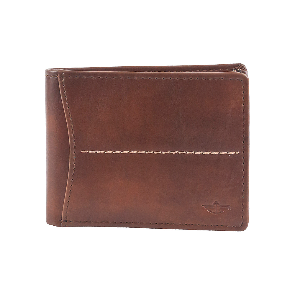 Dockers Extra Capacity Slimfold Cognac – Dockers Men's Wallets