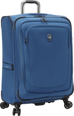 Atlantic Unite 2 25 inch Expandable Spinner Blue - Atlantic Softside Checked
