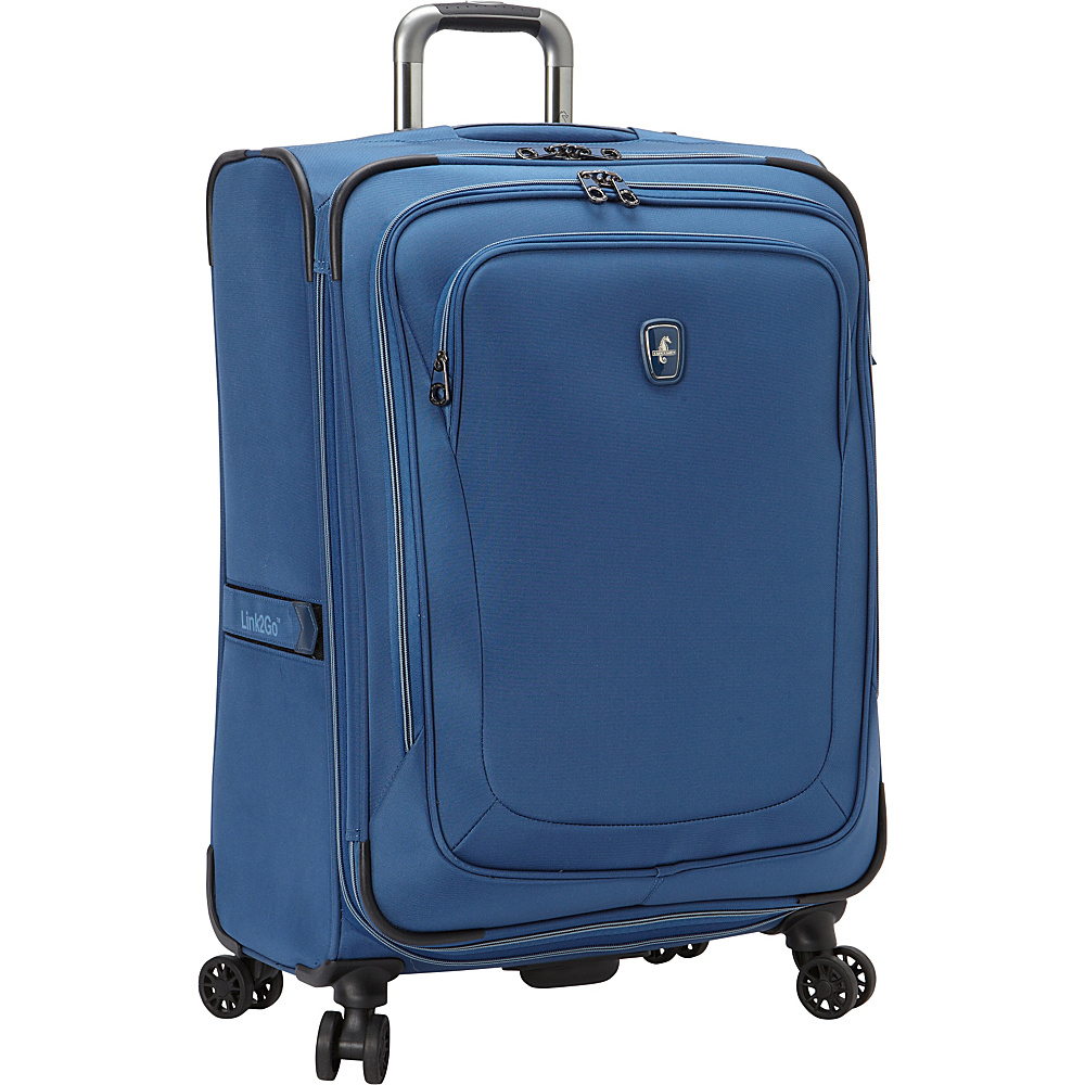 "Atlantic Unite 2 25"" Expandable Spinner Blue - Atlantic Softside Checked"