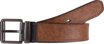 Levi's 35MM Non-Reversible w/ Batwing Ornament and Decorative Stitch Brown - Medium - Levi's Other Fashion Accessories