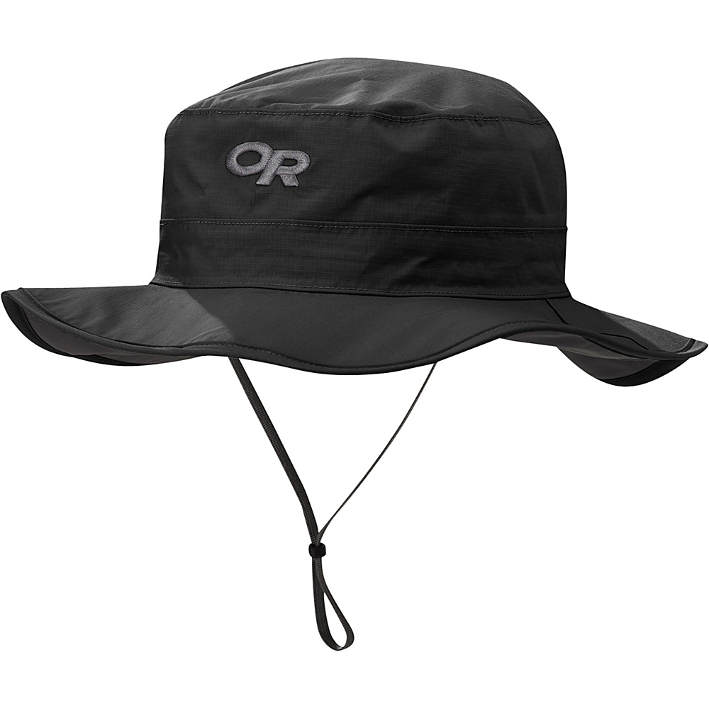 Outdoor Research Helios Rain Hat XL - Black - Outdoor Research Hats/Gloves/Scarves - Fashion Accessories, Hats/Gloves/Scarves