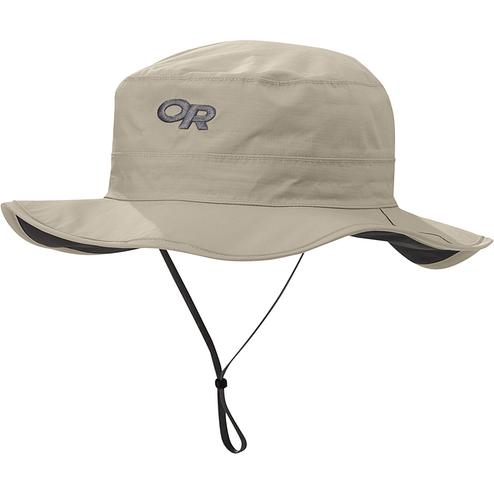 Outdoor Research Helios Rain Hat XL - Khaki - Outdoor Research Hats/Gloves/Scarves - Fashion Accessories, Hats/Gloves/Scarves