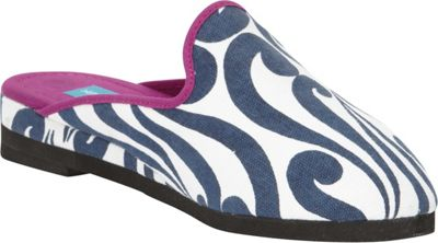 Needham Lane Isabella Slip-Ons L - Navy - Large - Needham Lane Women's Footwear