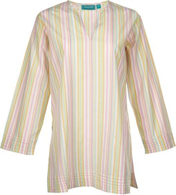 Needham Lane Ceylon Stripe Tunic L - Beach Stripe - Needham Lane Women's Apparel