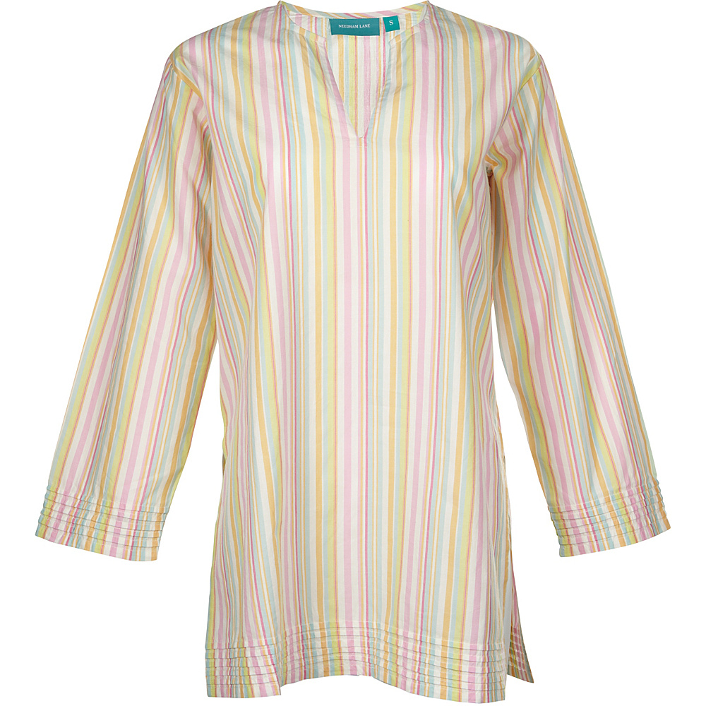 Needham Lane Ceylon Stripe Tunic L Beach Stripe Needham Lane Women s Apparel