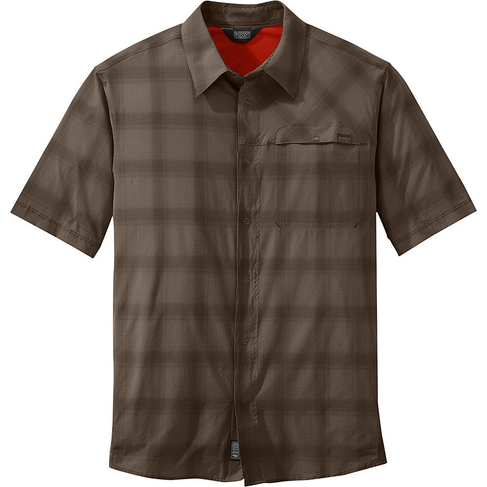Outdoor Research Mens Astroman Short Sleeve Shirt XL - Earth - Outdoor Research Mens Apparel - Apparel & Footwear, Men's Apparel