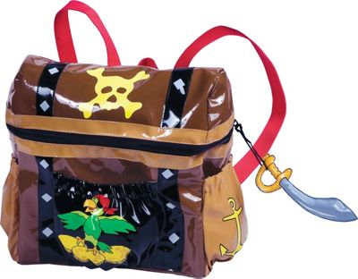 Kidorable Pirate Backpack Brown - One Size - Kidorable Ev...