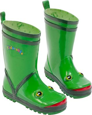 Kidorable Frog Rain Boots 10