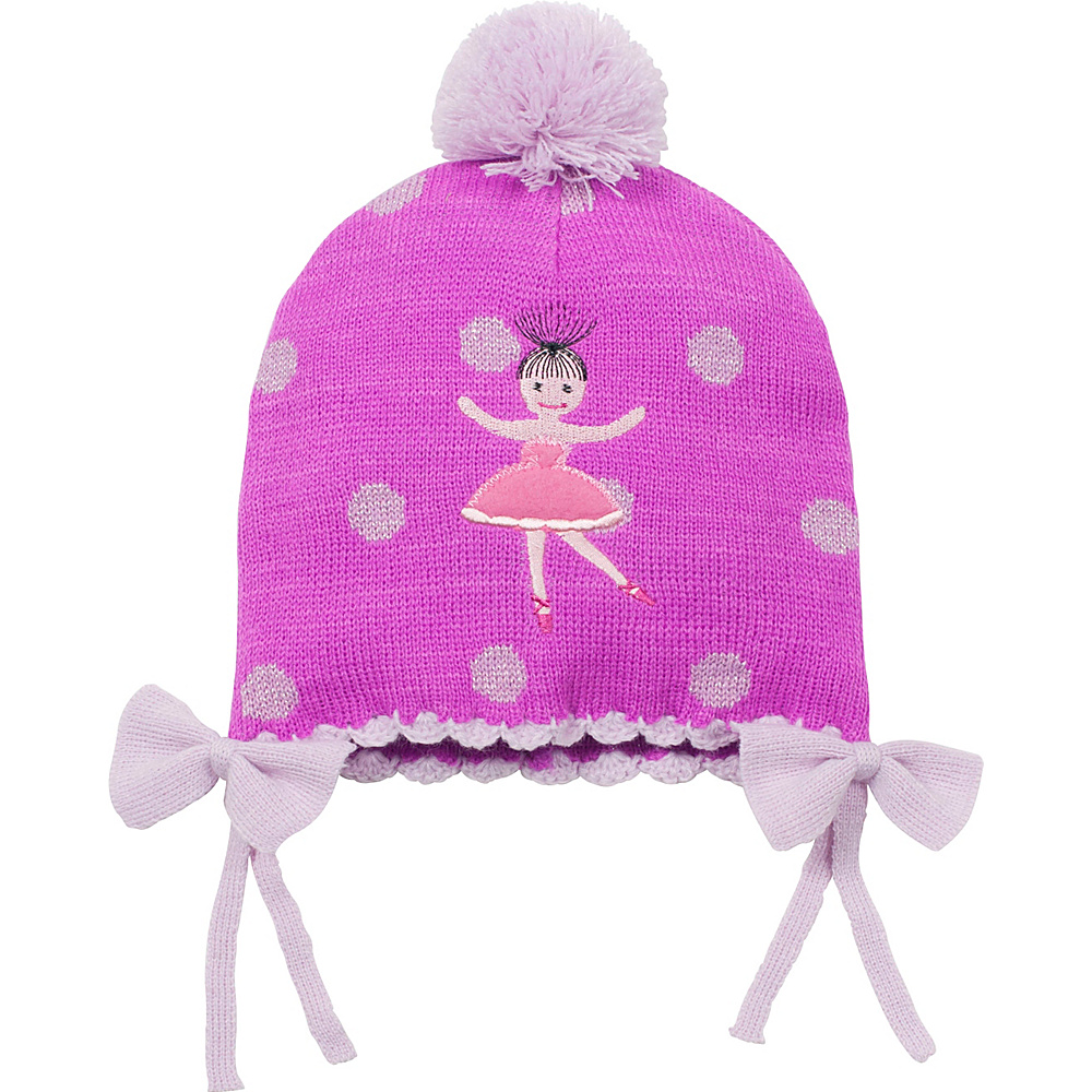 Kidorable Ballerina Knit Hat Pink One Size Kidorable Hats Gloves Scarves