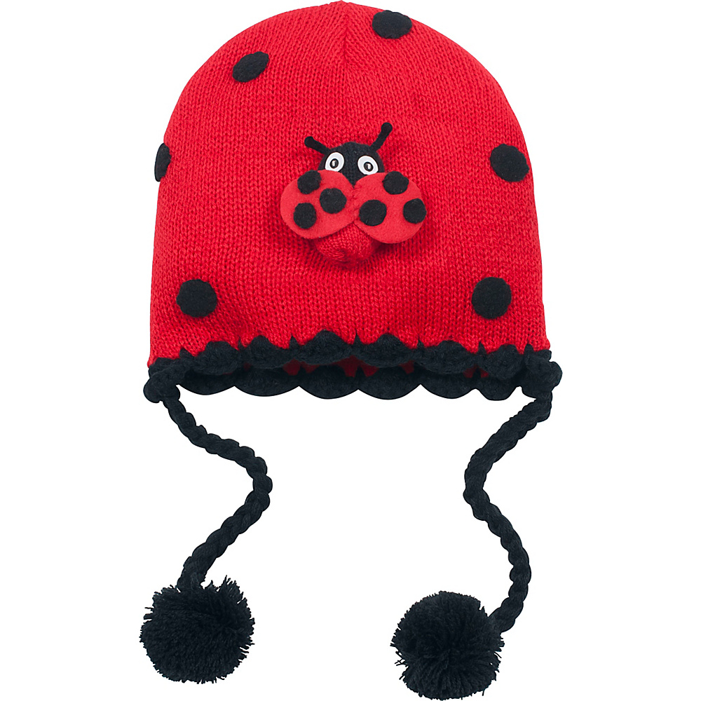 Kidorable Ladybug Knit Hat One Size - Red - One Size - Kidorable Hats/Gloves/Scarves - Fashion Accessories, Hats/Gloves/Scarves