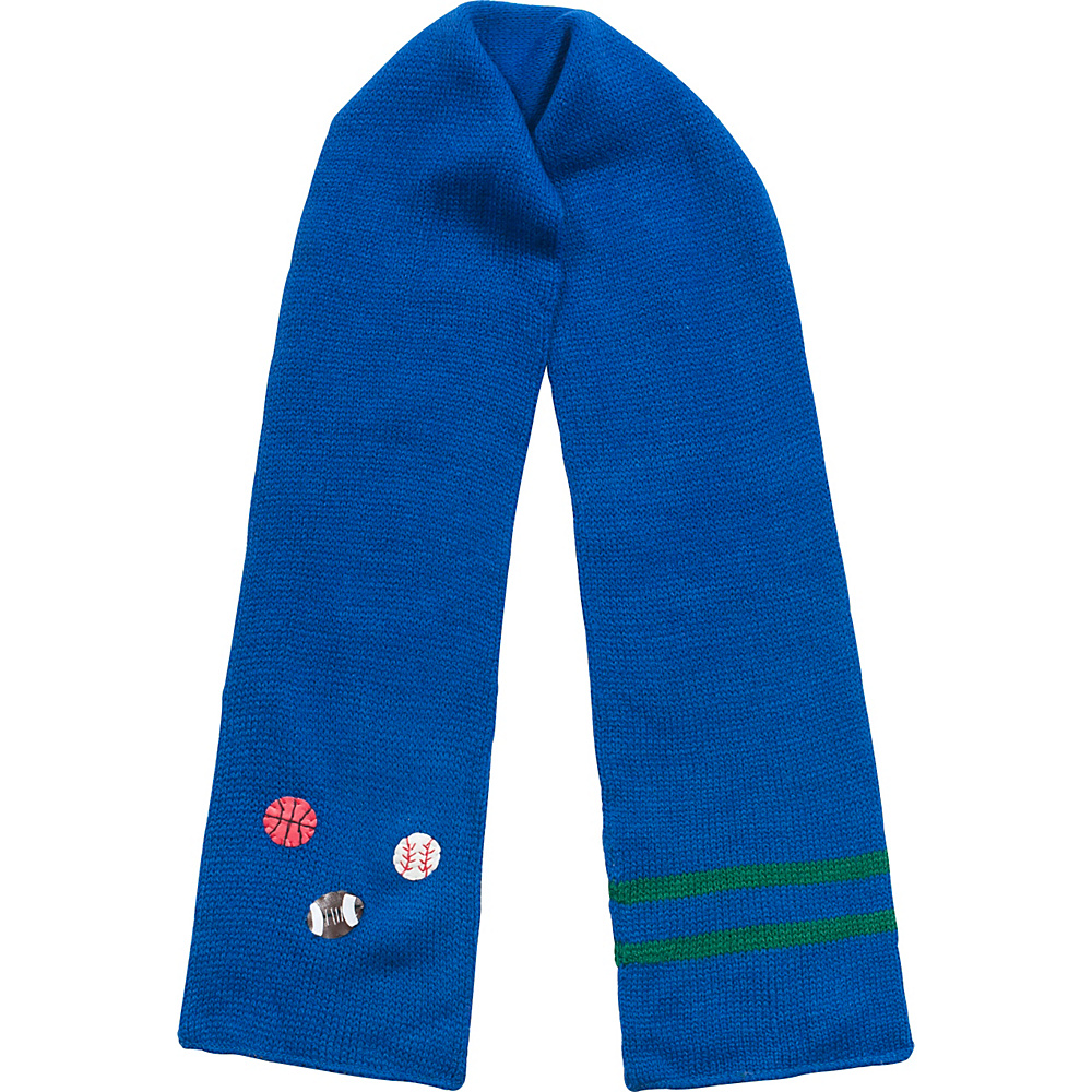Kidorable Sport Knit Scarf Blue - One Size - Kidorable Hats/Gloves/Scarves - Fashion Accessories, Hats/Gloves/Scarves