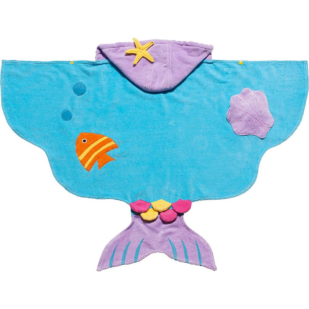 Kidorable Mermaid Hooded Towel Aqua - Medium - Kidorable Travel Health & Beauty - Travel Accessories, Travel Health & Beauty