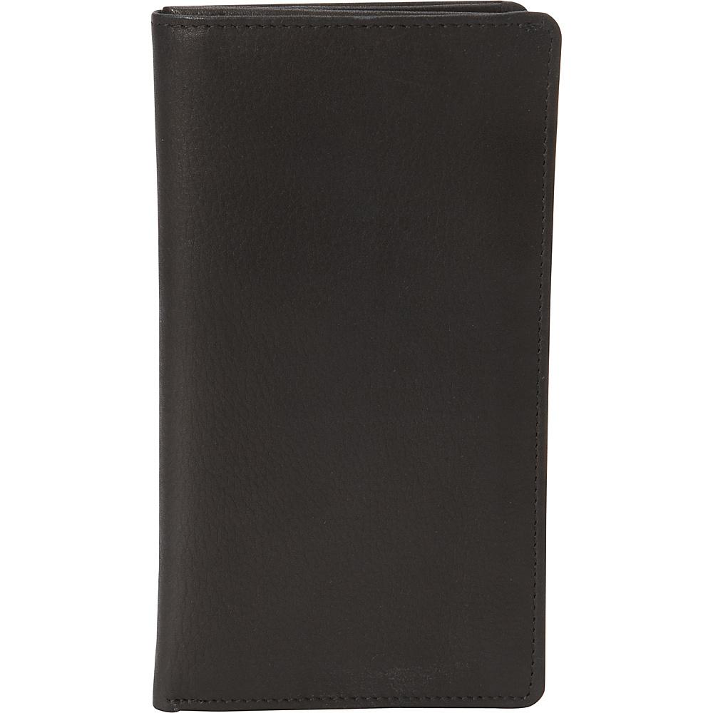 Derek Alexander Mens Breast Pocket Wallet Black - Derek Alexander Mens Wallets - Work Bags & Briefcases, Men's Wallets