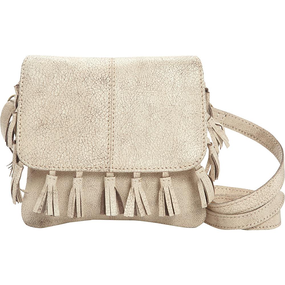 Latico Leathers Vale Crossbody Crackle White - Latico Leathers Leather Handbags - Handbags, Leather Handbags