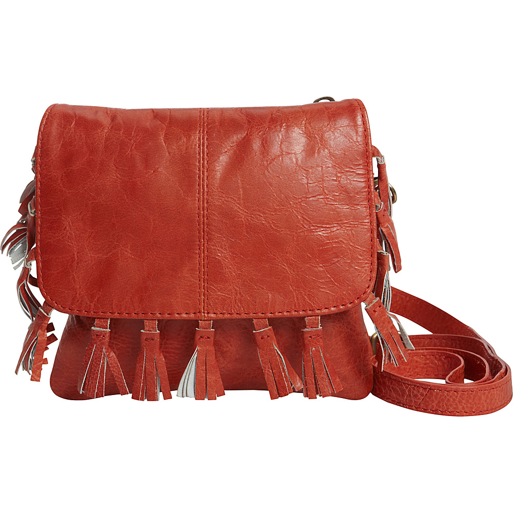 Latico Leathers Vale Crossbody Vintage Red - Latico Leathers Leather Handbags - Handbags, Leather Handbags