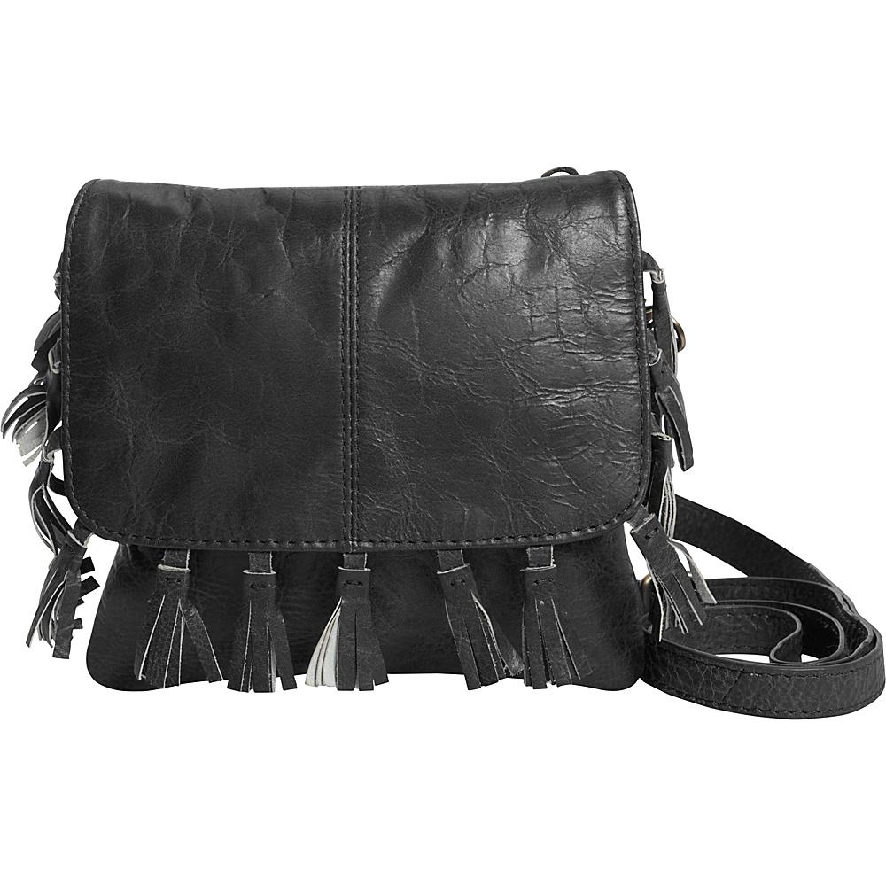 Latico Leathers Vale Crossbody Washed Black - Latico Leathers Leather Handbags - Handbags, Leather Handbags
