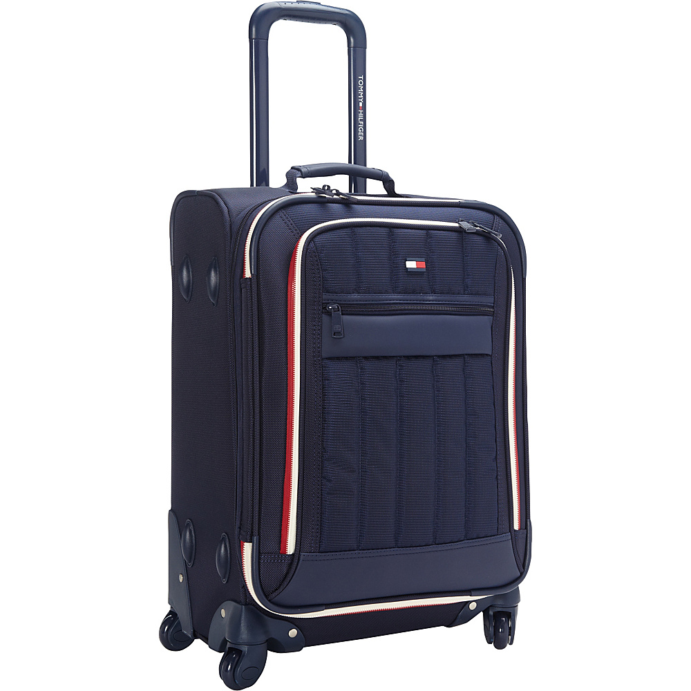 Tommy Hilfiger Luggage Classic Sport 21 Exp. Carry On Navy Navy Tommy Hilfiger Luggage Softside Carry On