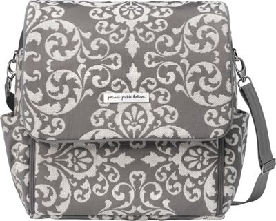 Petunia Pickle Bottom Boxy Backpack Earl Grey - Petunia Pickle Bottom Diaper Bags & Accessories