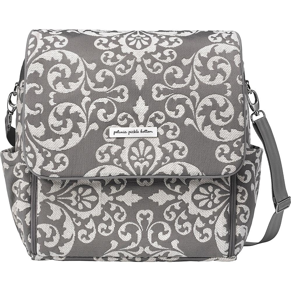 Petunia Pickle Bottom Boxy Backpack Earl Grey Petunia Pickle Bottom Diaper Bags Accessories