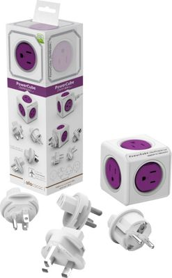 PowerCube Rewireable Cable and Adapter Orchid Purple - PowerCube Electronic Accessories
